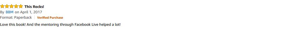Amazon Review - BBM