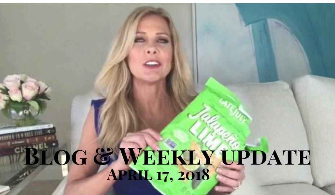 Blog & Weekly Update April 17, 2018