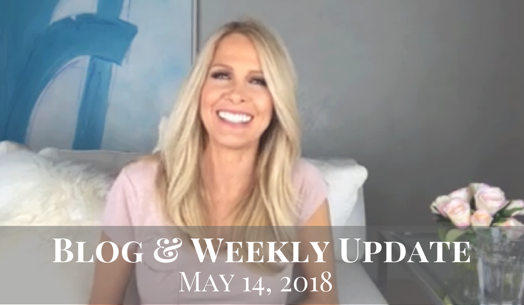 Blog & Weekly Update May 14, 2018