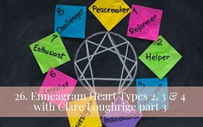 26. Enneagram Heart Types 2, 3 & 4 with Clare Loughrige part 3