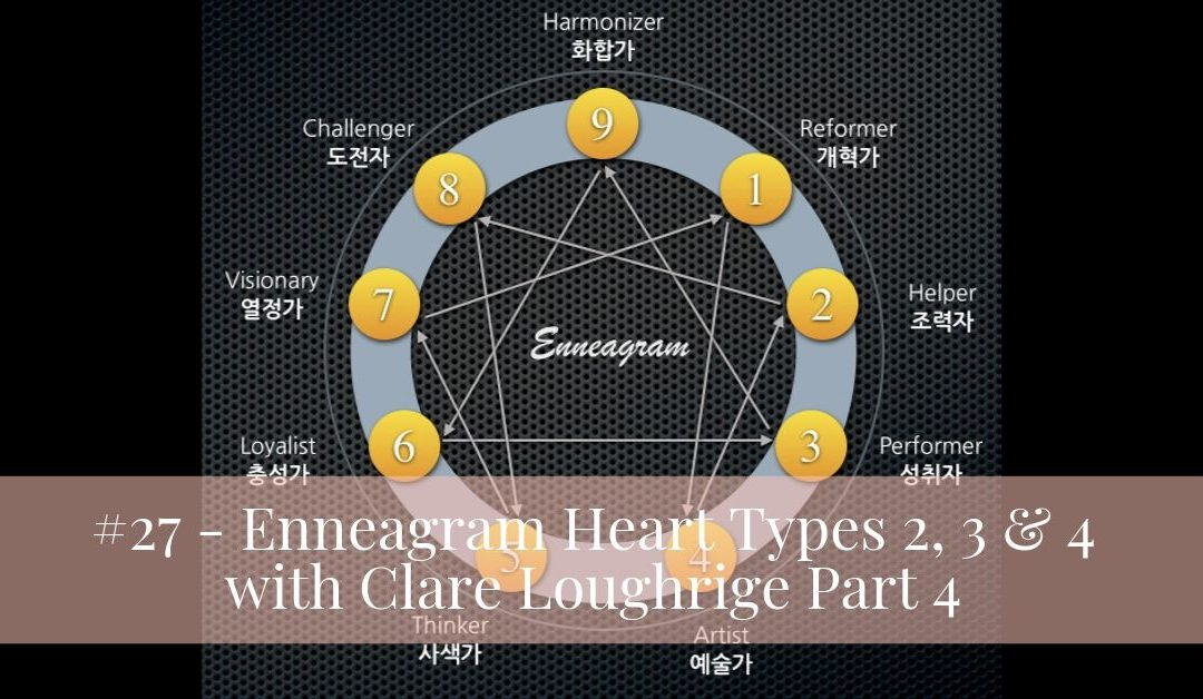 #27 – Enneagram Heart Types 2, 3 & 4 with Clare Loughrige part 4